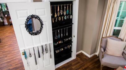 Diy Built Jewelry Organizer