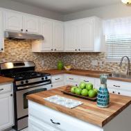 Diy Butcher Block Countertops Stunning Kitchen Look
