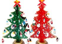 Diy Cartoon Wooden Christmas Tree Decoration Xmas Gift