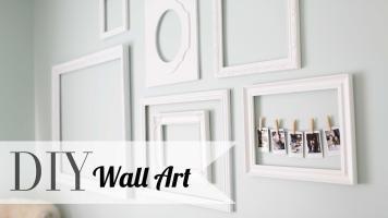 Diy Chic Wall Art Polaroid Display Home Decor Ann