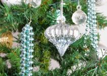 Diy Christmas Beaded Ornaments Basil Chaise
