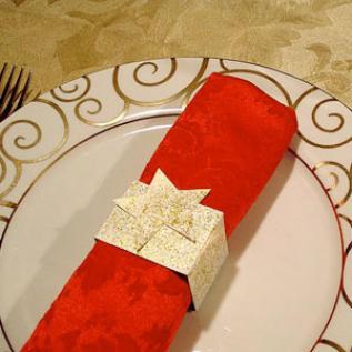 Diy Christmas Napkin Rings Parenting