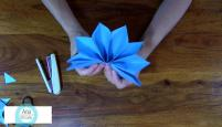 Diy Christmas Stars Step Cardboard Paper