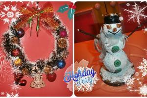 Diy Christmas Wreath Snowman Bozicni Venac Snesko