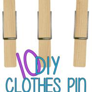 Diy Clothes Pin Crafts Put