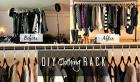 Diy Clothing Rack Missfashioneda