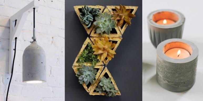 Diy Concrete Crafts Projects Joy