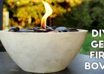 Diy Concrete Gel Fire Pit Easy Modern Builds