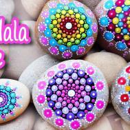 Diy Crafts Mandala Stone Innova
