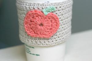 Diy Crochet Pumpkin Coffee Cup Sleeve