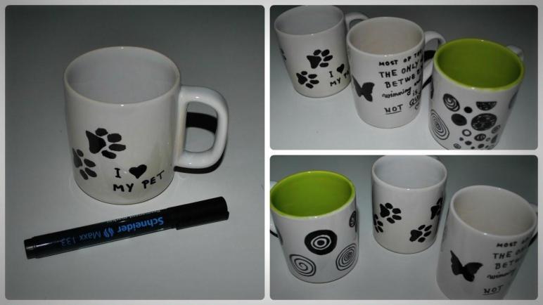 Diy Decorate Mug Permanent Marker