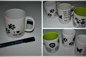 Diy Decorate Mug Permanent Marker