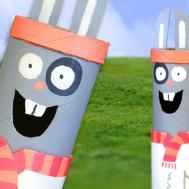 Diy Easter Bunny Mint Dispenser Easy Crafts Kids