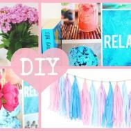 Diy Easy Inexpensive Summer Room Decor 2015 Tumblr