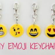 Diy Emoji Keychain Crafts Projects