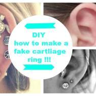 Diy Fake Cartilage Ring