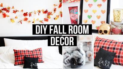 Diy Fall Room Decor Affordable Cozy Laurdiy