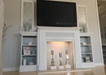 Diy Faux Fireplace Mantel Ideas Designs
