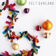 Diy Felt Garlands Can Festive Decorations