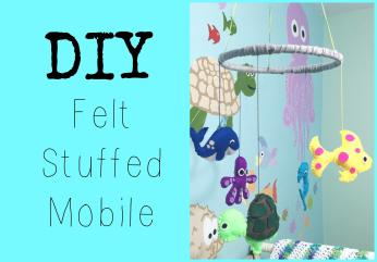 Diy Felt Mobile Nursery Series Jessica Joaquin