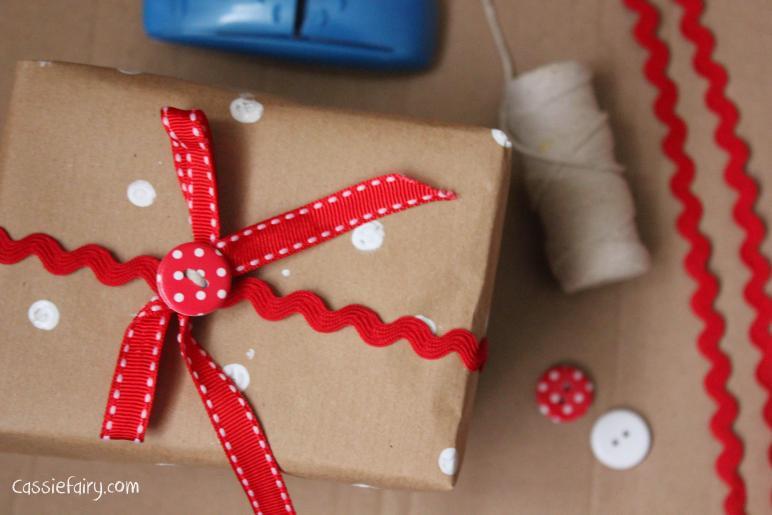 Diy Festive Wrapping Ideas