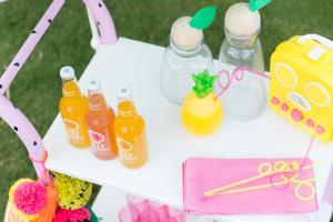 Diy Fruity Summer Bar Cart Makeover Studio