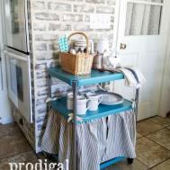 Diy Furniture Adorable Vintage Cosco Cart Dust