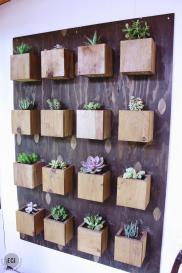 Diy Garden Wall Urban Sunroom Makeover East Coast