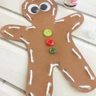 Diy Gingerbread Man Ornaments Onion Rings Things
