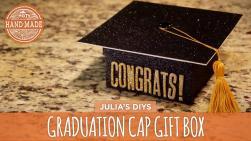 Diy Graduation Cap Gift Box Handmade