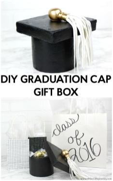 Diy Graduation Cap Gift Box Little Craft Your Day