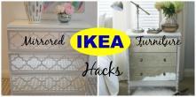 Diy Hacks Mirrored Furniture Ideas Inspiration