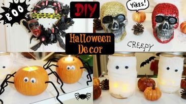 Diy Halloween Decorations Collab Karina Garcia