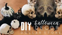Diy Halloween Decorations Dollar Store Pumpkins