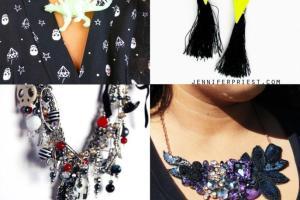 Diy Halloween Jewelry Tutorials Dinosaur Necklace