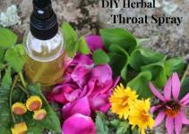 Diy Herbal Throat Spray Sore Throats