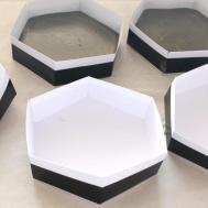 Diy Hexagon Concrete Coasters Dossier