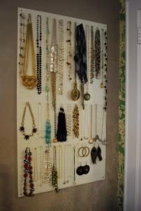 Diy Homasote Jewelry Organizer Effortless Style Blog