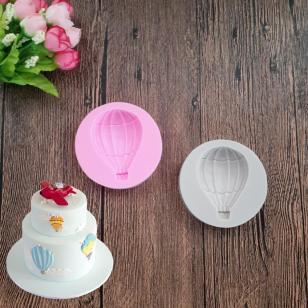 Diy Hot Air Balloon Silicone Fondant Mold Sugar Craft Cake