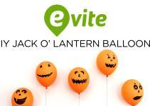 Diy Jack Lantern Balloons Evite