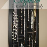 Diy Jewelry Organizer Tempting Thyme