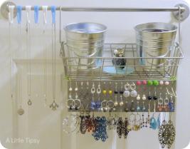 Diy Jewelry Organizer Wall