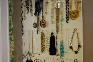 Diy Jewelry Organizer Wall Home Design Ideas