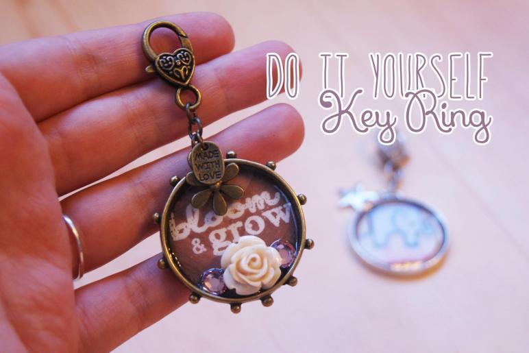 Diy Key Ring Keychain