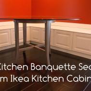 Diy Kitchen Bench Banquette Seating