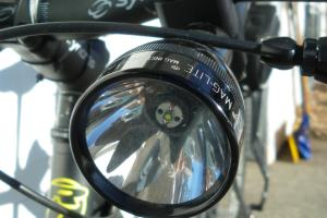 Diy Led Maglite Bike Light Justin Foell