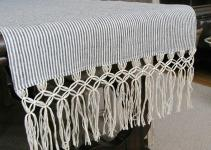 Diy Macrame Fringe Table Runner Driven Decor