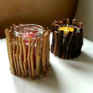 Diy Make Attractive Dirt Cheap Candle Holders