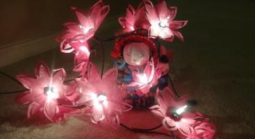 Diy Make Easy Paper Flower Lights Tissue