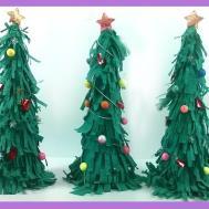 Diy Make Miniature Christmas Tree Paper